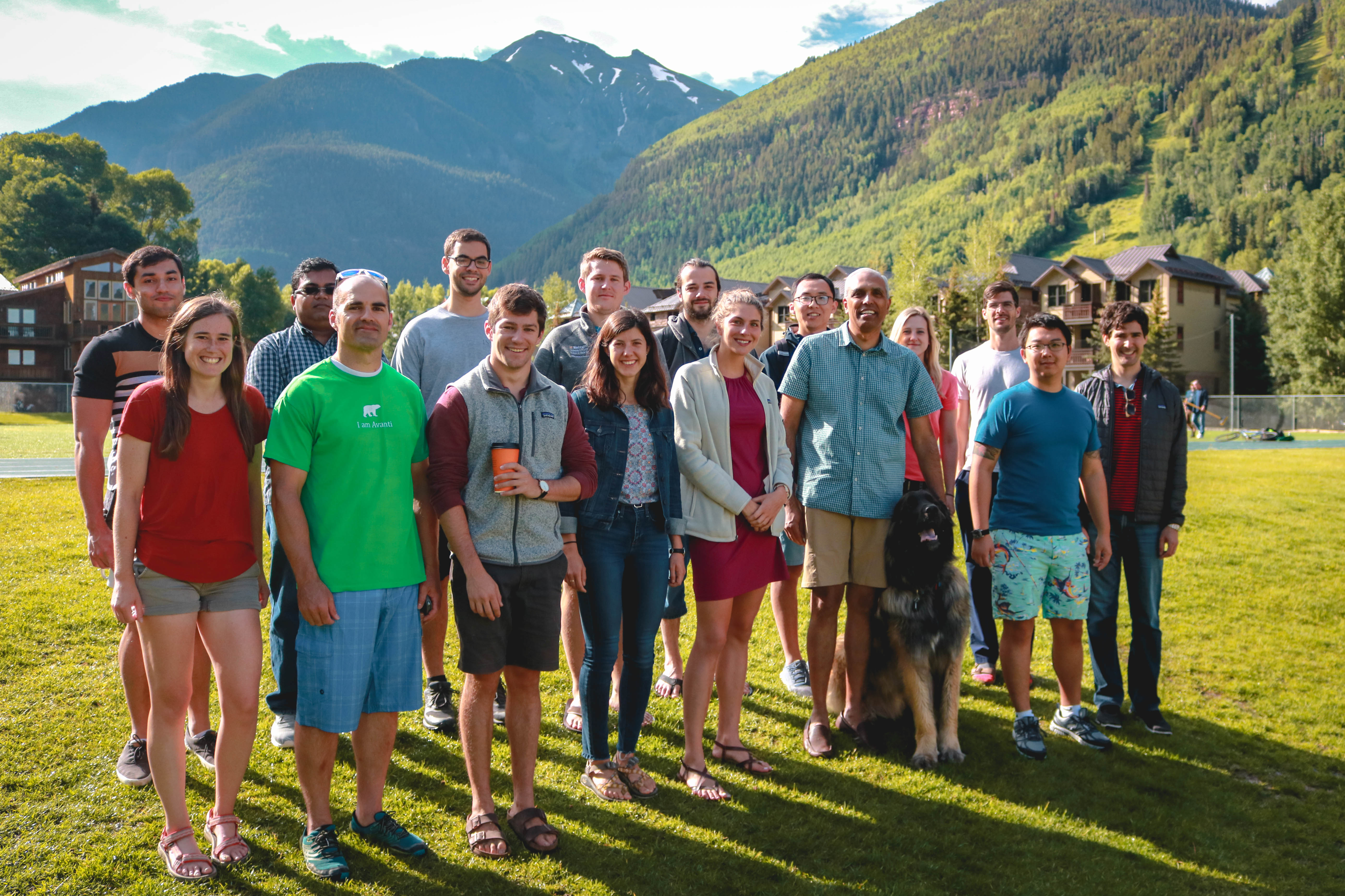 The Pappu Lab in Telluride (July 2019)