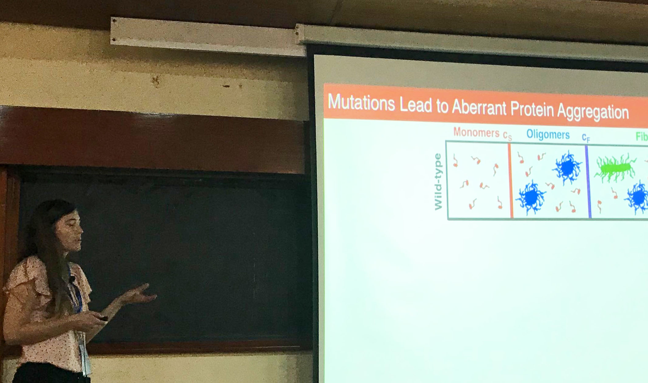 Kiersten's talk at the EMBO Workshop in Bangalore
