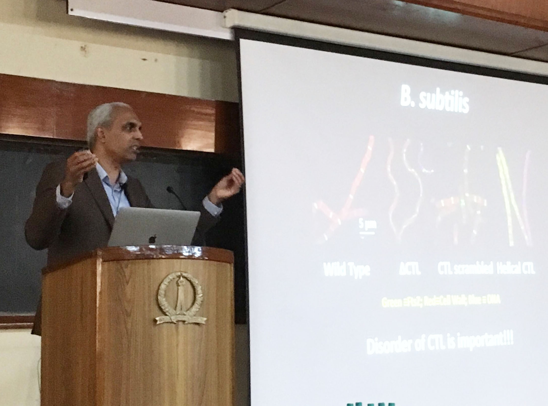 Rohit's keynote talk at the EMBO Workshop in Bangalore